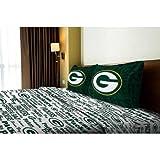 NFL Anthem Green Bay Packers Bedding Sheet Set: Full