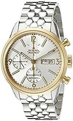 Bulova Accu Swiss Men's 65C113  Mechanical Hand Wind Silver Watch