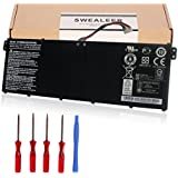 SWEALEER Compatible AC14B8K Battery if Applicable Acer Chromebook C910 CB3-111 CB5-571 CB3-531 C810 Aspire ES1-520 R5-471T R7-372T R3-131T ES1-511 ES1-111M R7-371T ES1-531 E3-112 [15.2V 48Wh AC14B8K]