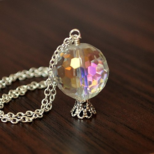 Crystal Ball Necklace in -
