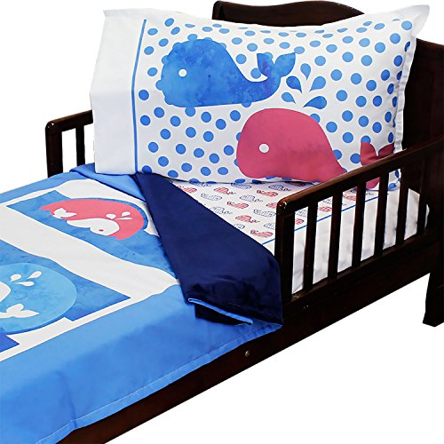RoomCraft Toddler Bedding Nautical Pillowcase product image