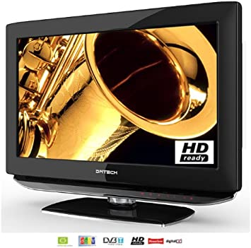 DMTech LCD TV 19 Pulgadas (48 cm) DVB-T, Ci de Seguridad, USB 2.0, HDMI, HDReady; Precios Incluye IVA zzgl.Envío: Amazon.es: Electrónica
