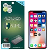 Película de Vidro para iPHone X, Hprime Vidro Temperado [9H][0.33MM][RETA], Apple iPhone X