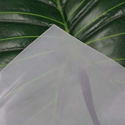 Silicone Sheet (Translucent High Temp Thin Silicone Rubber Sheet 1/25 by 12 by 19.7 inch)