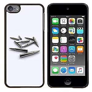 All Phone Most Case / Oferta Especial Duro Teléfono Inteligente PC Cáscara Funda Cubierta de proteccion Caso / Hard Case Apple iPod Touch 6 6th Touch6 // Bullet