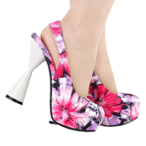 Mujer Show Correa Multicolor Con De Zapatos Tobillo Story nqHwxPOqB