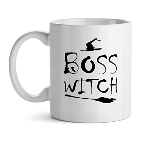 Perfect Boss Witch Feminist Office Cool   Mad Over Mugs   Inspirational Unique  Popular Office Tea Coffee
