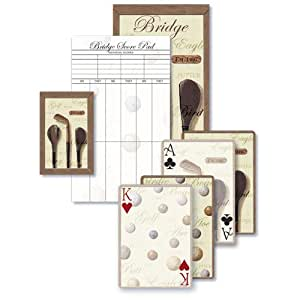 Tee Time- Bridge Playing Cards Gift Set