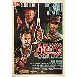 The Good, The Bad and The Ugly POSTER Movie (27 x 40 Inches - 69cm x 102cm) (1966) (Italian Style F)