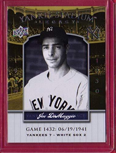 2008 Upper Deck Yankee Stadium Legacy Collection #1432 Joe DiMaggio
