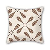 PILLO The geometry cushion cases of ,16 x 16 inches / 40 by 40 cm decoration,gift for her,deck chair,coffee house,floor,kids,saloon (twice sides)