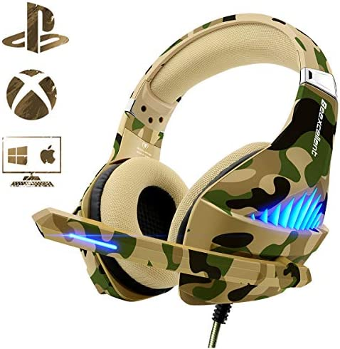 Beexcellent Headphone Cancelling Breathable Light%EF%BC%88Camo%EF%BC%89 product image
