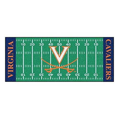 NCAA University of Virginia Cavaliers Football Field Runner Mat Area - Virginia Cavaliers Runner
