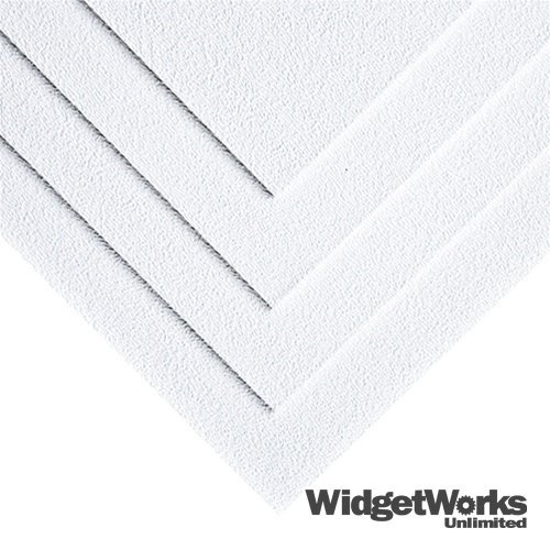 WHITE ABS Thermoform Plastic Sheets 1/16 x 18 x 18 Sheets...