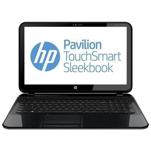 HP Pavilion Touchsmart 15-b153nr 15.6-inch Sleekbook AMD 1.6GHz 4555M Processor 6GB Ram 750GB Hard Drive Windows 8