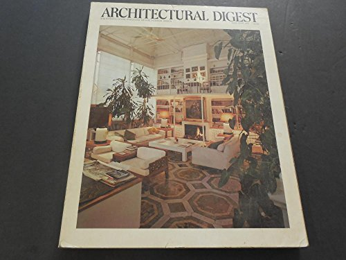 - Architectural Digest May/June 1976 Verticle Space, Victorian Townhouse