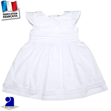 63296dd4964b4 Poussin Bleu - Robe baptême et cérémonie 0 mois-10 ans Made in France Taille