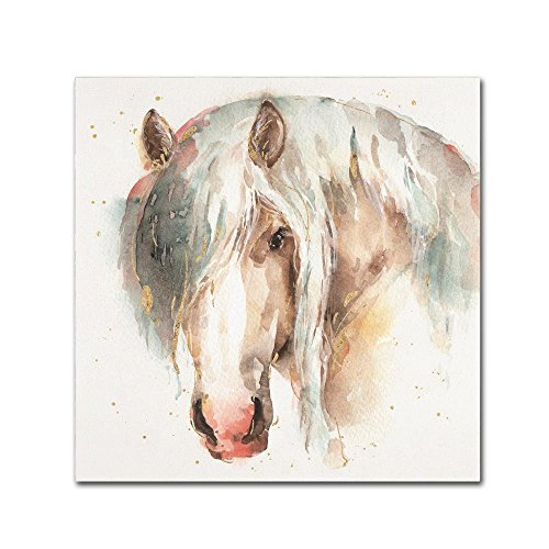 Farm Friends VI by Lisa Audit, 14x14-Inch Canvas Wall Art