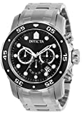 Invicta Men's 0069 'Pro Diver Collection' Stainless Steel Watch