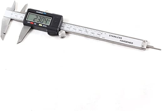 New Digital Vernier Caliper 150mm 0-6/'/' Measurement Tool with Shock Protection