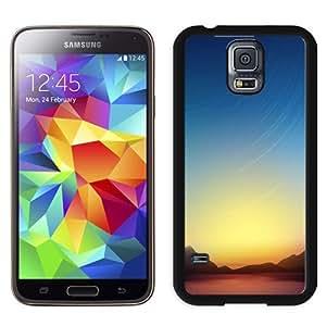 Beautiful Custom Designed Cover Case For Samsung Galaxy S5 I9600 G900a G900v G900p G900t G900w With Landscapes Comet Phone Case WANGJING JINDA