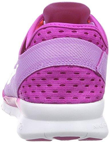 Nike Free TR 5 Breathe - Zapatillas para mujer Morado (fchs glw/white-fchs flsh-ht lv 500)