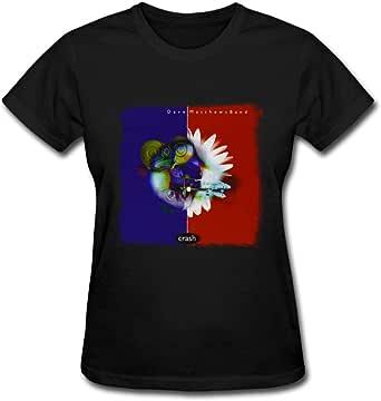 Duanfu Dave Matthews Band Crash Women's Cotton Short Sleeve T-Shirt
