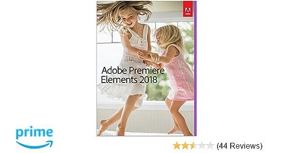 Amazon.com: Adobe Premiere Elements 2018 - No Subscription Required ...