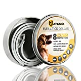 MATENIX Dogs Flea and Tick Prevention – Best Pests Control Collar for Dogs – Easy Adjustable and Water Resistance Collar – Ultra Safe For Pets and Pet's Owners with Natural Essential Oils