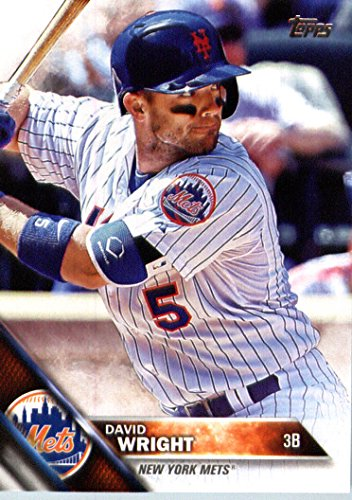 2016 Topps #310 David Wright New York Mets Baseball Card