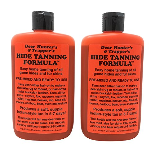 Deer Hunter's & Trapper's Hide & Fur Tanning Formula ()