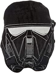 Jay Franco Star Wars Rogue One Death Trooper Face Pillow, Black