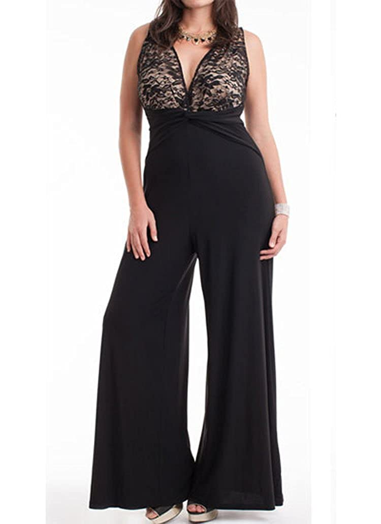 44f20483cde9 Twist knotted design below chest. Key hole at back. Hidden zipper at waist  on the side. Long wide pants