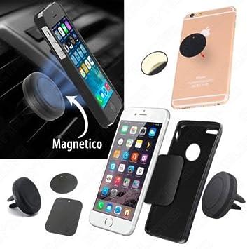 Soporte MAGNETICO de SMARTPHONE para VENTILADOR COCHE Con o Sin Adhesivo: Amazon.es: Electrónica