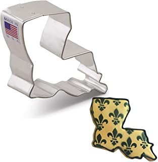 product image for Ann Clark Cookie Cutters Louisiana Cookie Cutter, 2.5""