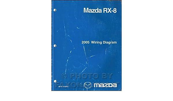2005 mazda rx-8 wiring diagram manual original rx8: mazda: amazon com: books