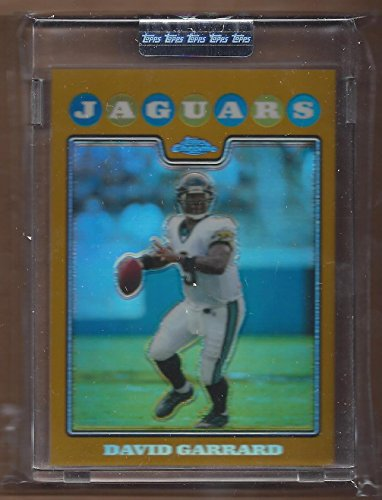 2008-topps-chrome-gold-refractors-tc6-david-garrard-199-nm