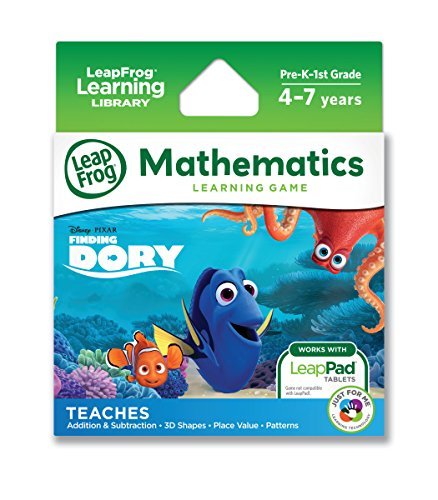 LeapFrog Disney/Pixar Finding Dory Learning Game (for LeapPad Platinum, LeapPad Ultra, LeapPad2, LeapPad3)