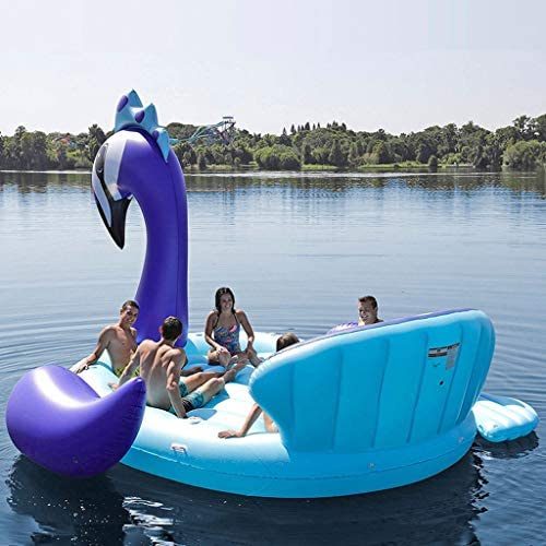 Piscina Inflable flotador 6 Persona Inflable Gigante Pavo Real ...