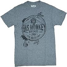 Gas Monkey Garage Seek and Destroy Gray Graphic T-Shirt