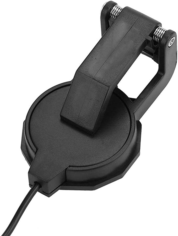 Alomejor 3m 6.35mm Audio Jack Clip-on Microfono Piezo violin ...