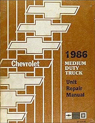 (1986 Chevrolet Light Duty Truck Unit Repair Manual)