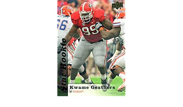2013 Upper Deck Star Rookie Autographs Autographed #63 Kwame Geathers Auto Card