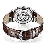 Rotary-Mens-Automatic-Watch-with-Silver-Dial-Analogue-Display-and-Brown-Leather-Strap-GS0034406