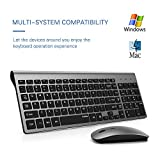 TopMate Wireless Keyboard and Mouse Combo | Ultra