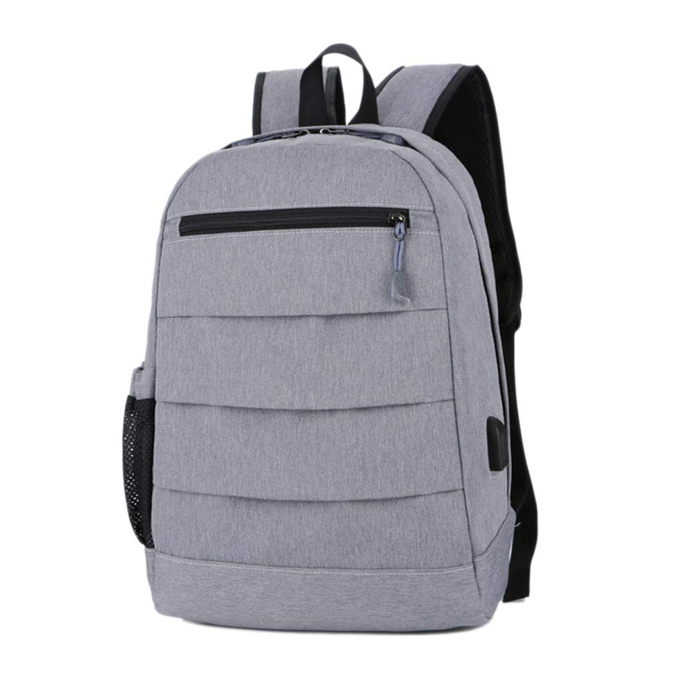 Fenical Laptop Backpack Travel School Backpack for Women Men USB Charging Port Slim Business Water Resistant Daypack Nylon Durable College Computer Bag Fit 15.6 Inch Laptops for Students Travellers