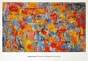 map (SM) de Jasper Johns de impresión
