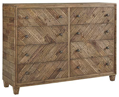 Signature Design by Ashley B754-31 Grindleburg Dressers, Light Brown