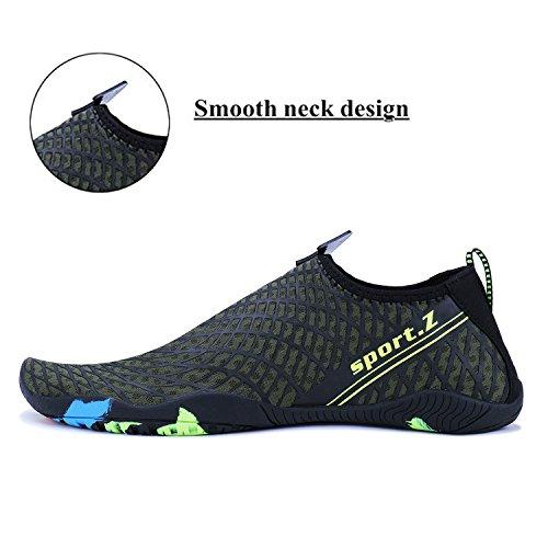 Men Shoes Aqua 3 Athletic WYSBAOSHU Water Women Barefoot green Socks fq7OOwd