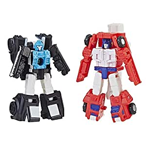Transformers Toys Generations War for Cybertron: Siege Micromaster Wfc-S19 Autobot Rescue Patrol 2 Pack Action Figure - Adults & Kids Ages 8 & Up, 1.5""